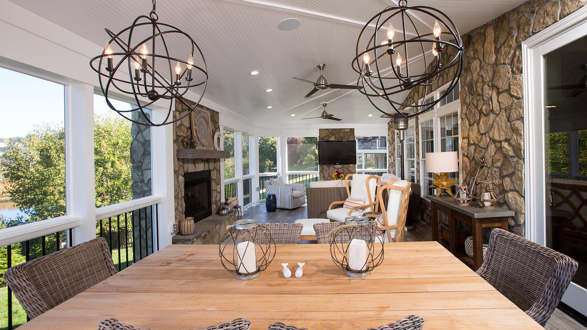 2018 Professional Remodeler Design Awards, Bronze Award Winner, Outdoor Living over $100,000